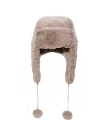 Rockahula Kids - czapka zimowa futerko Teddy Fur Brown 3 - 6 lat