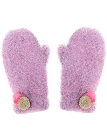 Rockahula Kids - rękawiczki zimowe Fluffy Spot 7 - 10 lat