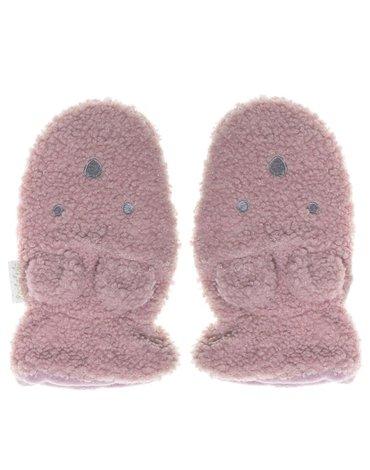 Rockahula Kids - rękawiczki zimowe Billie Bear Boucle Heather 3 - 6 lat