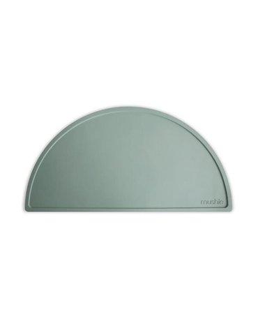 Mushie - Podkładka silikonowa na stół Cambrige Blue