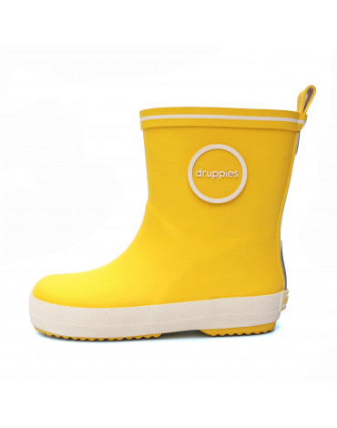 Kalosze FASHION BOOT Druppies yellow20