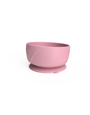 Silikonowa miseczka z przyssawką, różowa, Everyday Baby