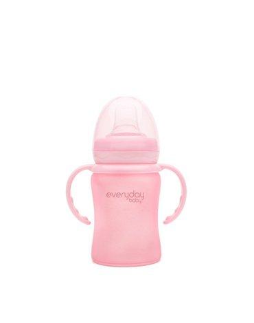 Zestaw uchwytów do bidonu 2 szt., różowe, Everyday Baby