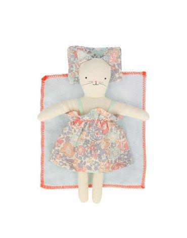Meri Meri - Kotek kwiatowy mini w walizce