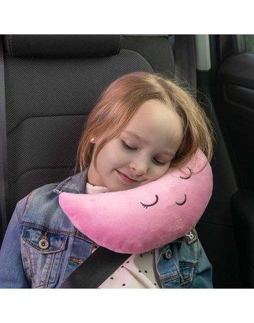 BenBat - Nakładka-poduszka na pas Księżyc - Pink