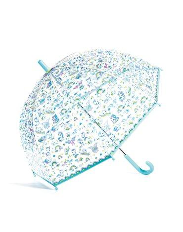 Djeco - Parasol przeciwdeszczowy JEDNOROŻCE  DD04708