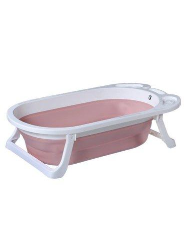 TitaniumBaby - Wanienka składana dla niemowląt Wave Pink TB