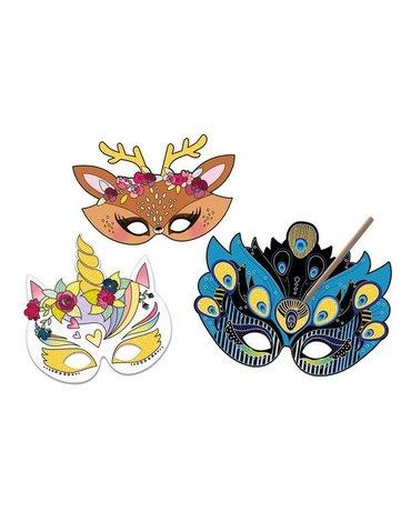 """Auzou Wydrapywanka """"Maski zwierząt"""" 65248"""