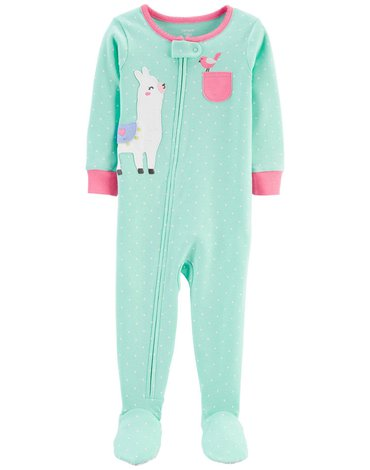 Carter's - Pajac-piżama Lama - 80 cm
