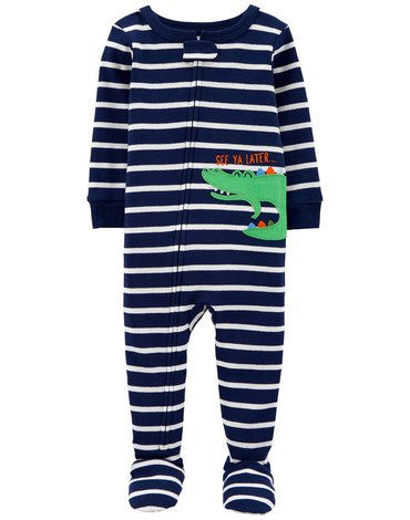 Carter's - Pajac-piżama Aligator - 80 cm