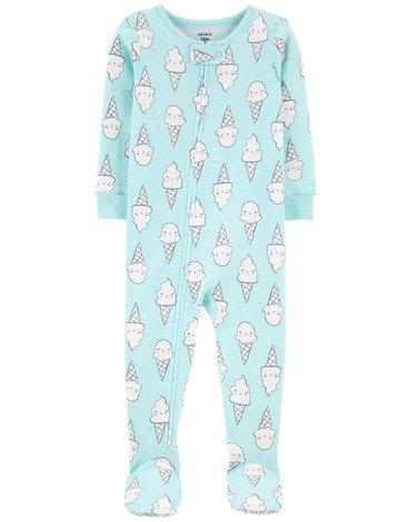 Carter's - Pajac-piżama Lody - 80 cm
