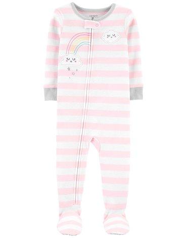 Carter's - Pajac piżama tęcza - 76 cm