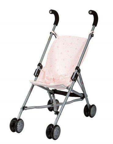 Barrutoys Wózek spacerówka Różowy w gwiazdki 575
