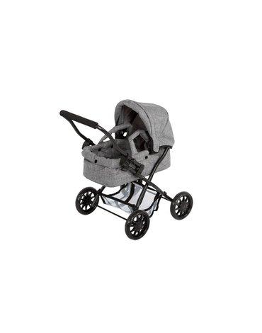 Barrutoys Głęboki wózek melanżowy szary 55580