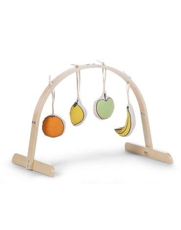 Childhome Zestaw zabawek 4 szt. Canvas do Tipi Play Gym