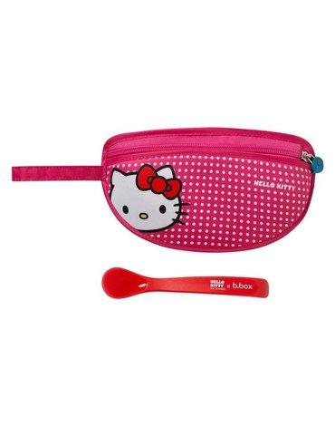 Śliniak dla niemowlaka w saszetce, Hello Kitty Pop Star, b.box