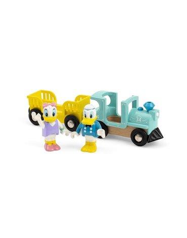 BRIO Retro Pociąg Kaczora Donalda i Daisy