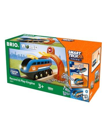 BRIO Smart Tech Lokomotywa z Nagrywarką
