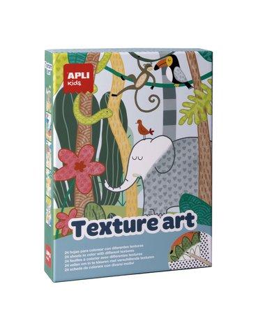 Zestaw artystyczny Apli Kids - Tekstury