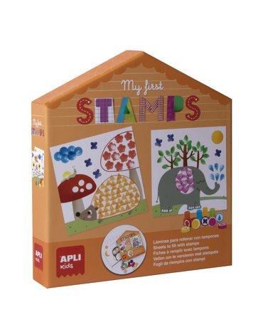 Mój pierwszy zestaw artystyczny Apli Kids - Stempelki
