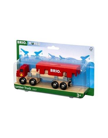 BRIO World Ciężarówka Do Transportu Drewna