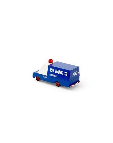 Candylab Drewniany Samochód Opancerzony