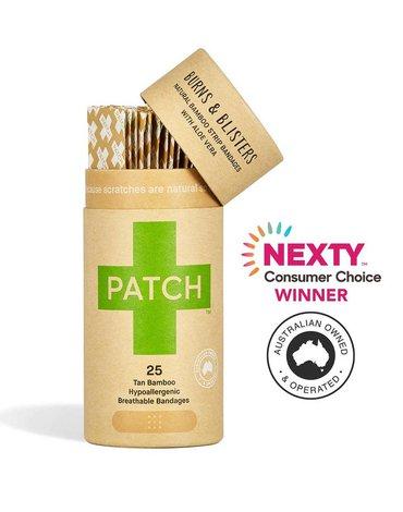 Patch, Naturalne plastry samoprzylepne z aloesem, 25 szt.