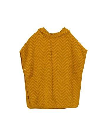 Filibabba Poncho Zigzag Golden Mustard