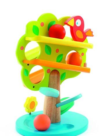 Djeco - Zabawka wczesnor.drewniane drzewko DJ06390