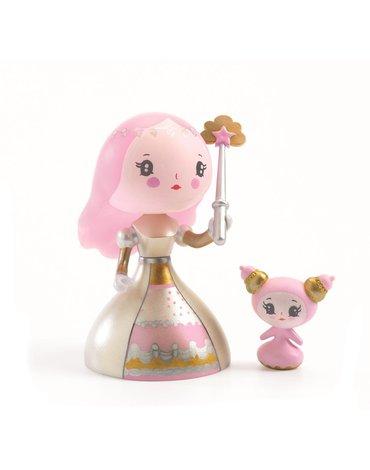 Djeco - Figurka księżniczki Candy i słodziak DJ06781