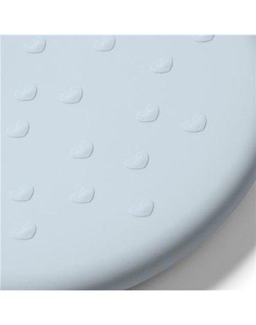 BABYONO - 829/05 Silikonowy śliniak z regulowanym zapięciem