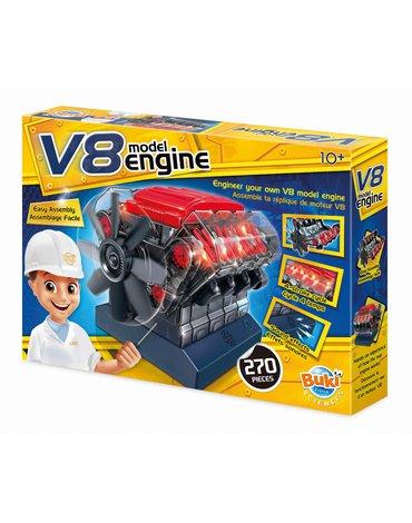 BUKI - Model silnika V8 7161