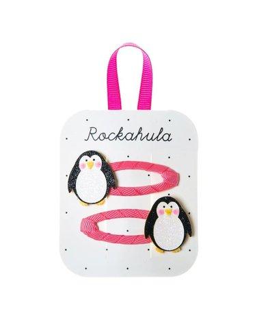 Rockahula Kids - spinki do włosów Penguin Glitter