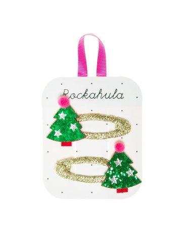 Rockahula Kids - spinki do włosów XMAS TREE
