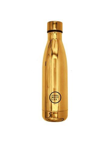 COOLBOTTLES - Cool Bottles Butelka termiczna 500 ml Chrome Gold