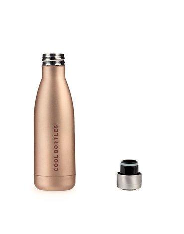 COOLBOTTLES - Cool Bottles Butelka termiczna 350 ml Metallic Gold