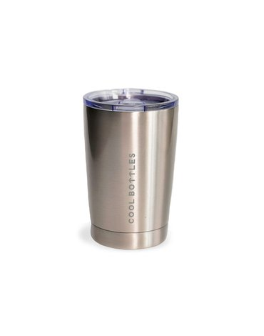 COOLBOTTLES - Cool Bottles Kubek termiczny 330 ml Metallic Silver