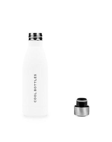 COOLBOTTLES - Cool Bottles Butelka termiczna 350 ml Mono White