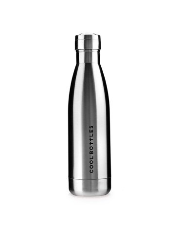 COOLBOTTLES - Cool Bottles Butelka termiczna 500 ml Metallic Silver