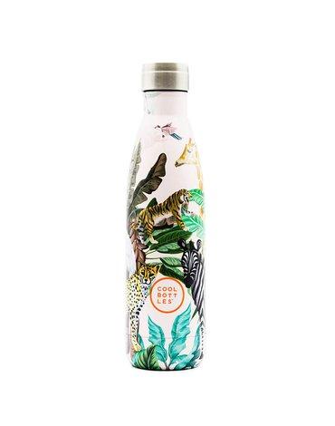 COOLBOTTLES - Cool Bottles Butelka termiczna 500 ml Tropical Jungle Pink