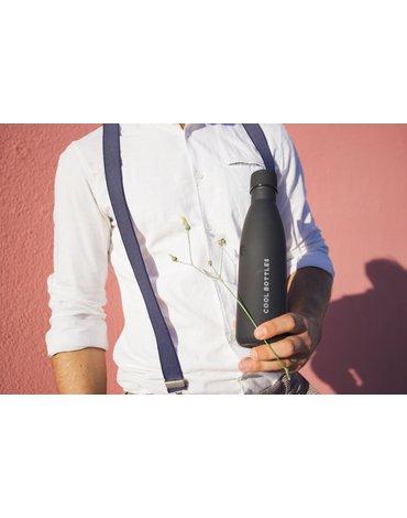 COOLBOTTLES - Cool Bottles Zakrętka 260-350-500 ml Mono Black