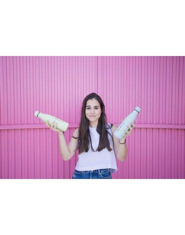 COOLBOTTLES - Cool Bottles Zakrętka 260-350-500 ml Pastel Green