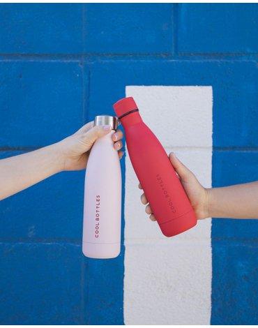COOLBOTTLES - Cool Bottles Zakrętka 260-350-500 ml Pastel Pink