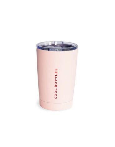 COOLBOTTLES - Cool Bottles Kubek termiczny 330 ml Pastel Pink