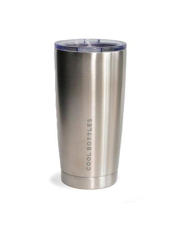 COOLBOTTLES - Cool Bottles Kubek termiczny 550 ml Metallic Silver