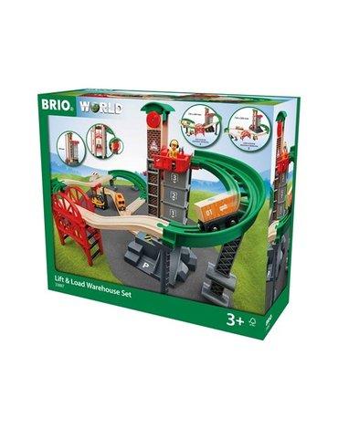 BRIO World Zestaw Magazynowy z Windą