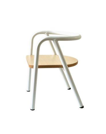 Charlie Crane Krzesełko dziecięce Hito White