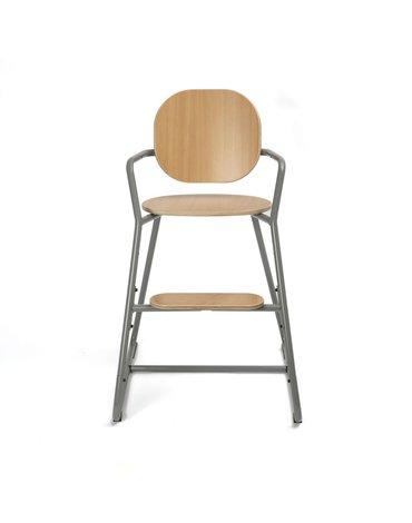 Charlie Crane Krzesełko do karmienia Tibu buk Cool Grey