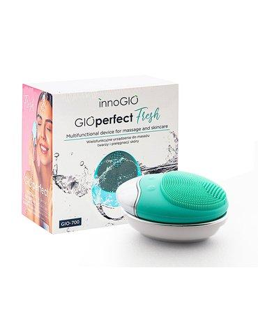 InnoGIO Wielofunkcyjne urządzenie do masażu twarzy i pielęgnacji skóry GIOperfect Fresh GIO-700
