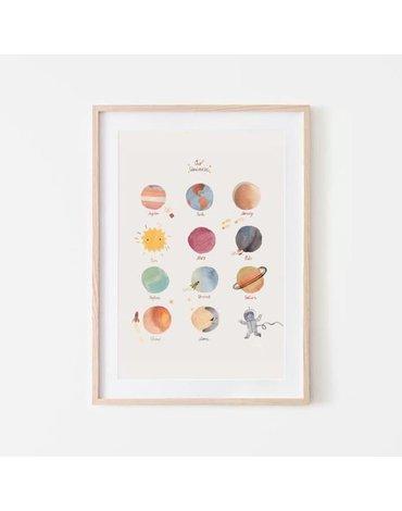 Mushie - Plakat Planety Large